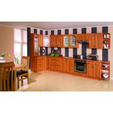 Park Avenue Raised (Honey Maple) Solid Wood Kitchen Cabient