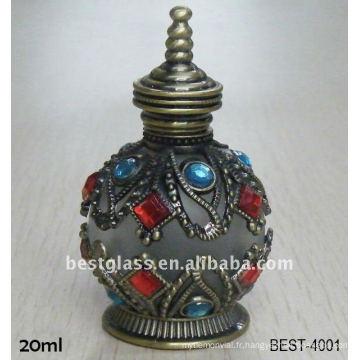 Bouteille de parfum métallique 20ml