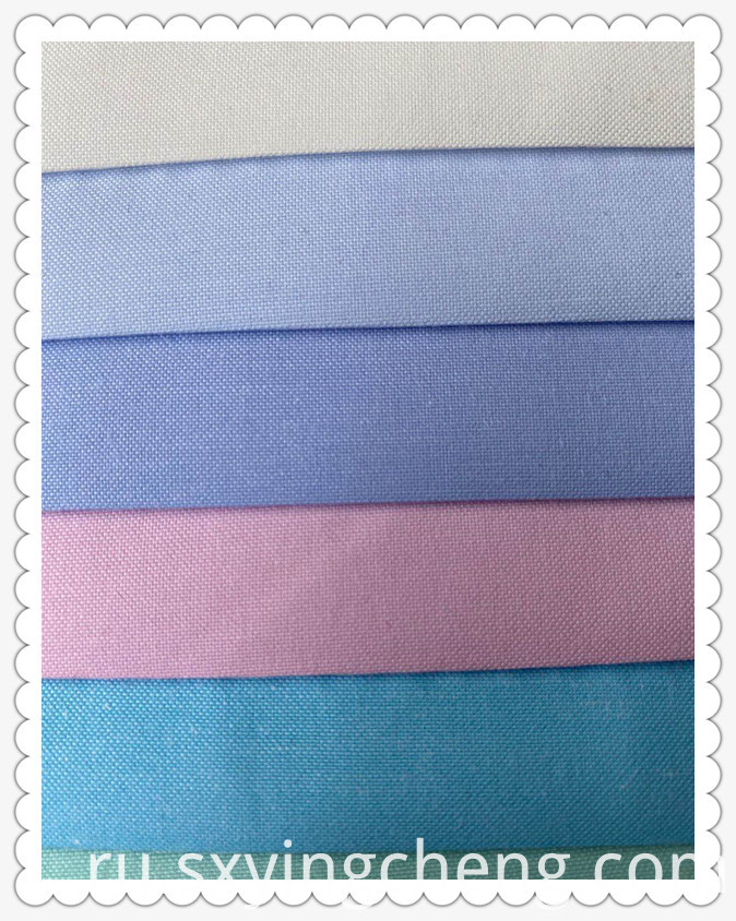 CVC Multi Color Shirt Fabric