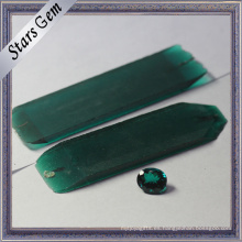 Top Grade Russia Import Synthetic Emerald Rough para Gemstone