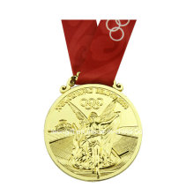 Custom Made Gold Plated Medal Wholesale