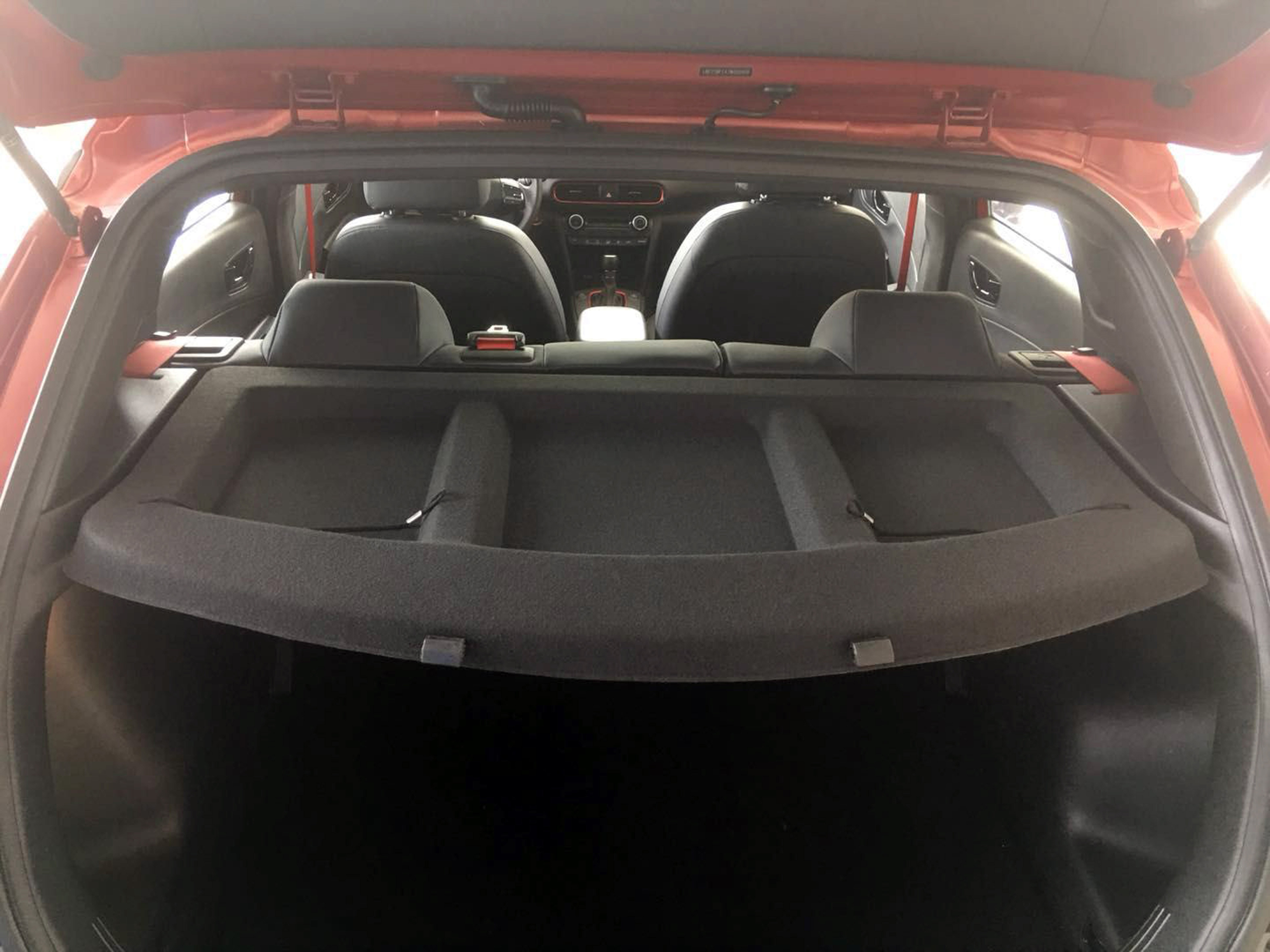 Rear Tailgate Hatchback Tray Load Cover