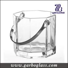 Godet à glace en verre 3L avec Tong (GB1903)