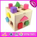 2015 Form Intelligenz Box Block Box Spielzeug für Kinder, bunte Block Box Spielzeug für Kinder, heißer Verkauf Block Box Spielzeug für Baby W12D011 Factory