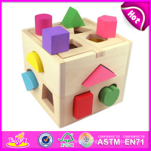 2015 Shape Intelligence Box Block Box Toy for Kids, Colorful Block Box Toy for Children, Hot Sale Block Box Toy for Baby W12D011 Factory