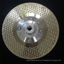 Disco de diamante rápido de corte em mármore 65mn para pedra de granito
