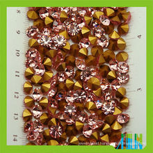 High quality mc glass chatons point back chatons