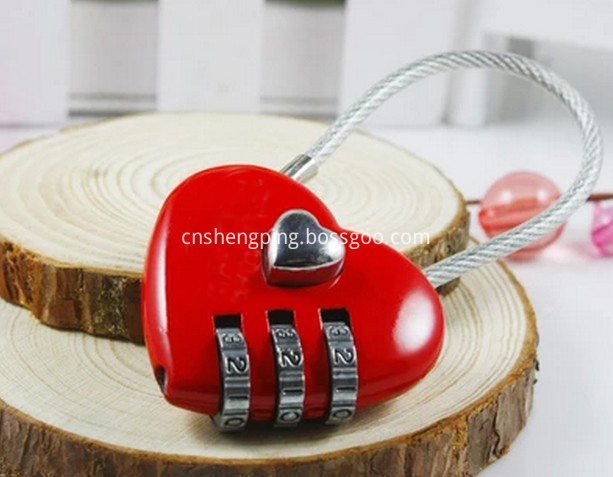 Lovely Colorful Combination Lock