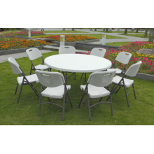 160cm High Quality Plastic Folding Round Banquet Table