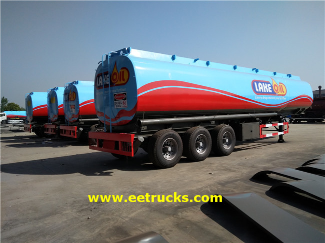 35 Ton Fuel Tanker Trailers