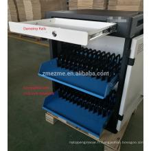 ZMEZME matières premières de haute qualité chargeant le chariot pour l'école de comprimé d'ipad