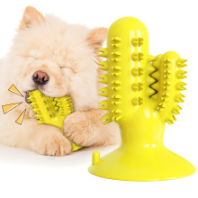 Pet chew-resistant molar sticks and leaking toothbrush-type dog toys