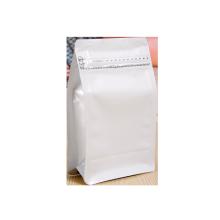 Custom Flat Bottom Bag with Zipper