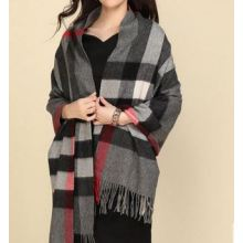 90% Wool 10% Cashmere Woven Throw