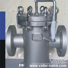 Wpb Ss304/Ss316 Quick Open Basket Strainer