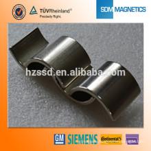 Super Strong Neodymium Arc Magnet for permanent magnet motor                                                     Quality Assured