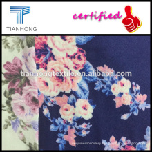rose floral design high quality 100 cotton printed flannel for pyjamas babywear