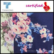 Хлопок высокого качества 100 роз цветочный дизайн печатных фланелевой пижамы магазины