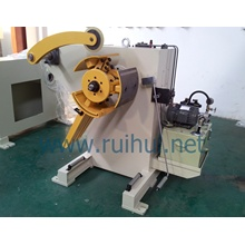Uncoiler Which Have Manual or Pneumatic Models Can Be Selected