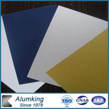 Feuille de couverture en aluminium recouvert de couleur 1100