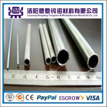 Tubos puros de molibdênio / tubos ou tubos de tungstênio / tubos em fornalha de cristal de safira com preço de fábrica