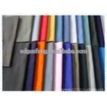98% Algodón / 2% Spandex 57/58 '' Tejido teñido liso telas de algodón sarga melocotón