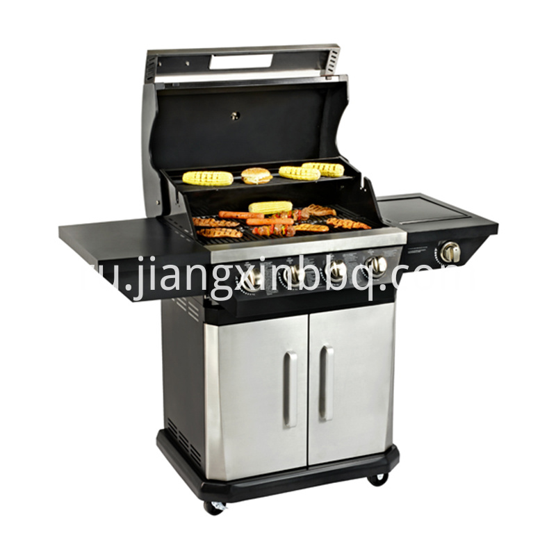 BBQ Gas Grill With Burners For Sale