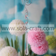 Lower Price 18CM Clear Transparent Grade A Acrylic Teardrop Home Beading Dropping Making