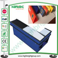 Contador de divisor de línea de verificación de material de PVC