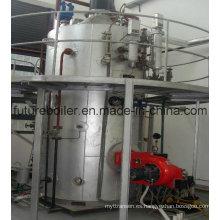 Caldera de vapor marina vertical encendida por aceite