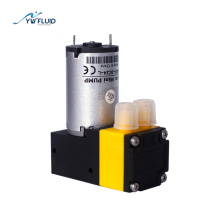 YWfluid 12v/24v mini vacuum air  pumps with dc motor used for liquid packaging  sample analysis