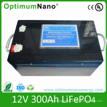 UL CE Ice Un38.3 Certificate 12 V 300ah LiFePO4 Battery