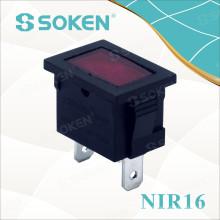 Nir16 12V / 24V Miniaturanzeigeleuchte mit Reisbirne 21 * 15mm