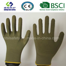 Glove Foam Latex Coated Gardening Working Gloves