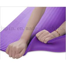 OEM Logo NBR Nurable Soft Eco-Friendly Sport Yoga Mat