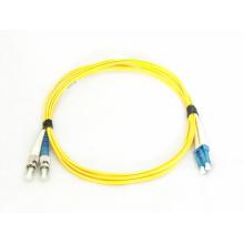 Cable de conexión de fibra óptica de modo simple St a LC de 9 a 125 um