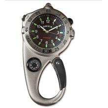 Custom Japan Bewegung ultimative Karabiner Kompass Uhr