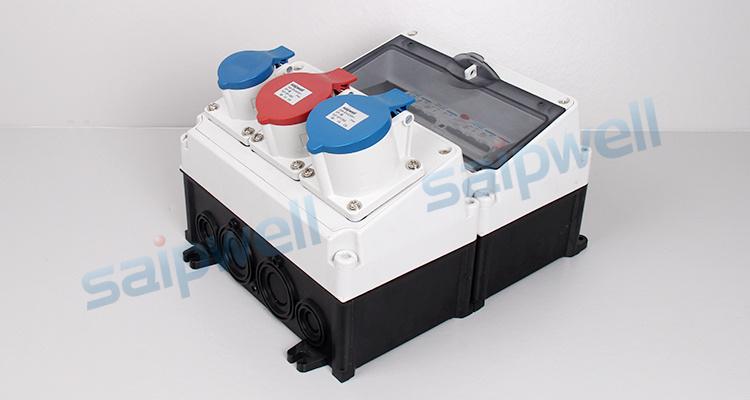 SAIP/SAIPWELL Hot Sales Dustproof Electric Outdoors Emergency 3 Push Button Switch Box