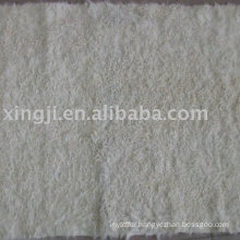 Natural white Kalgan lamb Fur plate