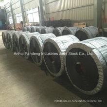 Correa transportadora resistente al fuego del cordón de acero estándar de DIN / Cema / ASTM / Sha para la mina de carbón