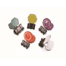 Assorted shapes binder clip with low price good quality