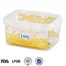 easylock plastic baby food container for food