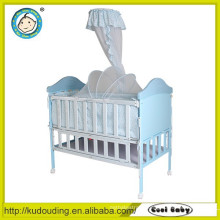 Hot china products wholesale foldable crib for baby