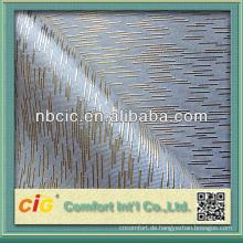Synthetisches Gold PVC-Leder-Gewebe für Sofa