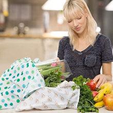 Wholesale Eco-friendly 190T Polyester Shopper Bag Foldable Tote Bag Folding Supermarket Shopping Bag