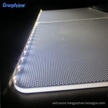 Acrylic Edge-lit Illuminative Light Guide Panel