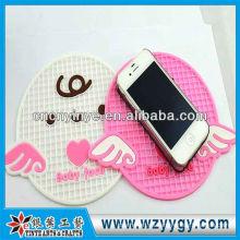Teléfono de manera personalizada patrón lindo estera anti del resbalón para el regalo de la promoción y souvenirs