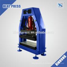 Neumática Hidráulica flor rosado weedporn prensa máquina doble prensa de calor 18cmx18cm placas