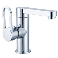 Brass Body Single Handle Water Basin Faucet (ICD-R003A)