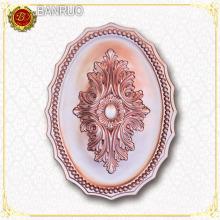 Banuro Oval Champagne Gold Color Artistic Panel